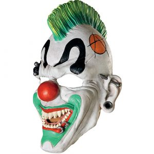 Masque clown punk rieur