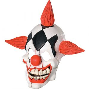 Masque clown rieur terrifiant