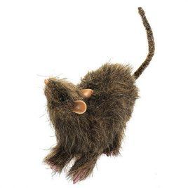 Rat brun en fourrure