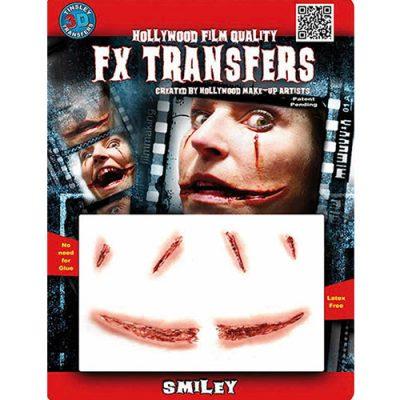 Sourire sanglant Transfert 3D