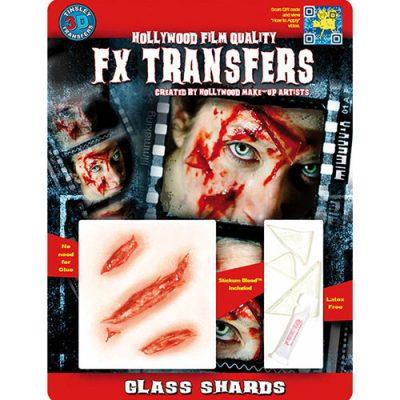 Tessons de verre Transfert 3D