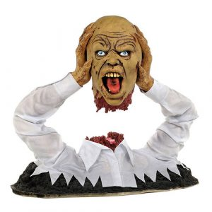 Zombie qui s'arrache la tête