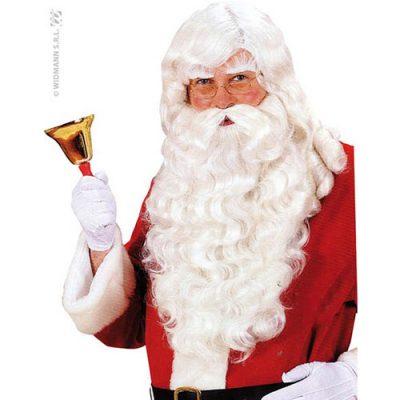 Perruque et postiches luxe Père Noël