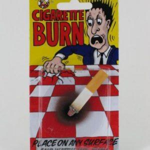 fausse cigarette allumée