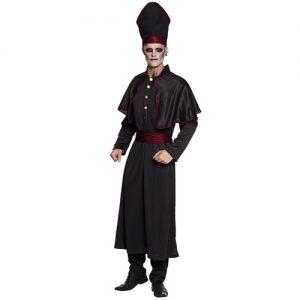 costume-homme-halloween-prieur-noir