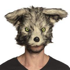 demi-masque-peluche-loup-garou