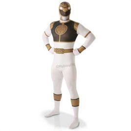 costume-adulte-second-skin-power-rangers-blanc