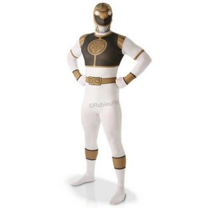 costume-adulte-second-skin-power-rangers-blanc