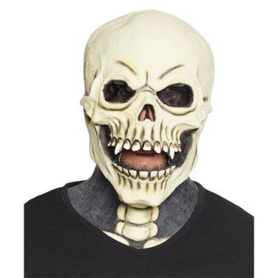 masque-tete-squelette-cou
