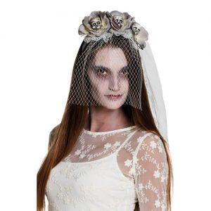 serre-tete-voile-de-mariee-zombie