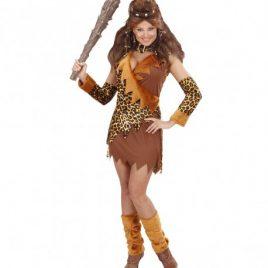 Costume femme de la caverne