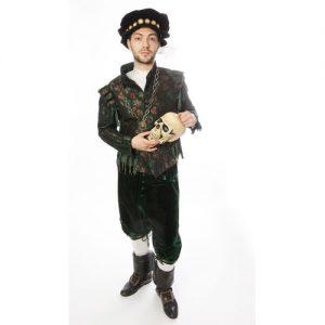 Costume prestige adulte Shakespeare Grace à ce Costume prestige adulte Shakespeare, To be or not to be deviendra votre gimmick ! Le petit