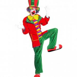 costume-adulte-clown-vert-rouge