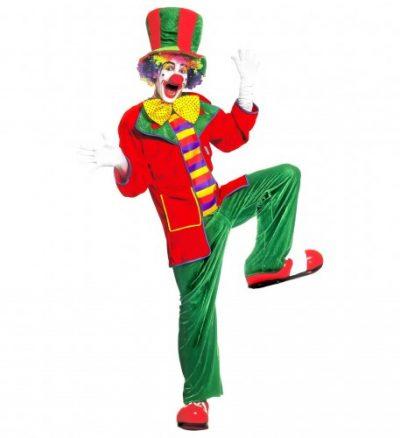 costume-adulte-clown-vert-rouge