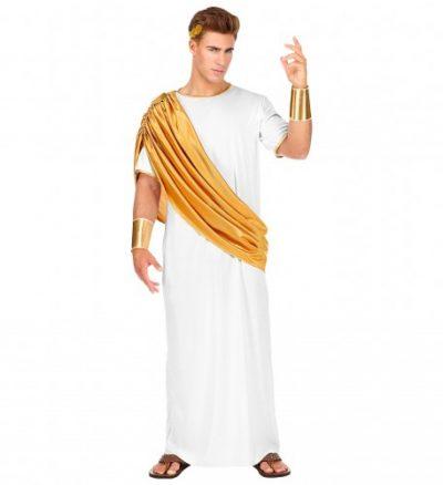 costume-homme-cesar-blanc-et-or
