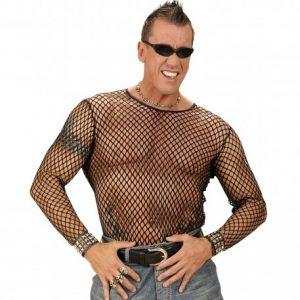 t-shirt-homme-en-resille-punk