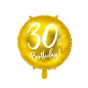 ballon-30-ans-or