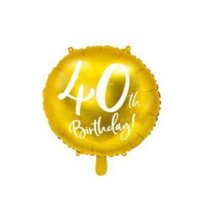 ballon-40-ans-or