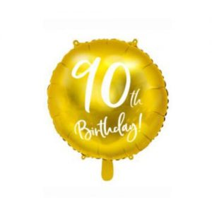 ballon birthday 90 ans alu