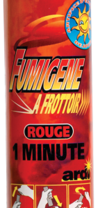 Fumigène à friction rouge