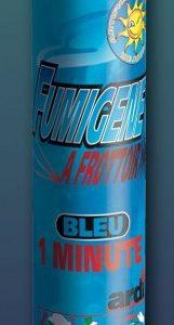 Fumigène à friction couleur bleu