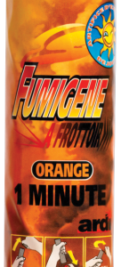 Fumigène à friction couleur orange