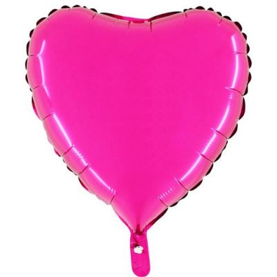 ballon-helium-coeur-rose-45-cm