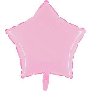 ballon-helium-etoile-rose-clair-45-cm