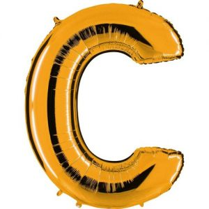 ballon-helium-or-lettre-B