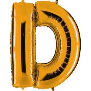 ballon-helium-or-lettre-D