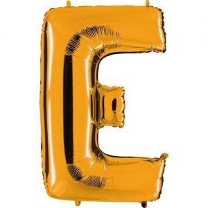 ballon-helium-or-lettre-E