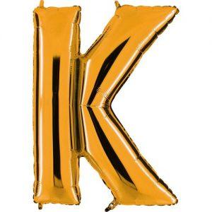ballon-helium-or-lettre-K