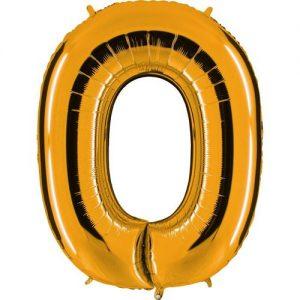 ballon-helium-or-lettre-O