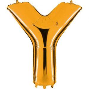 ballon-helium-or-lettre-Y
