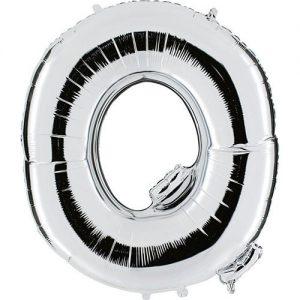 ballon-metallise-argent-lettre-O,-102-cm