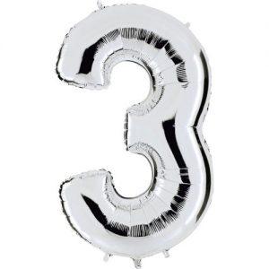 ballon-mylar-metallise-argent-chiffre-3,-102-cm