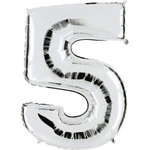 ballon-mylar-metallise-argent-chiffre-5,-102-cm