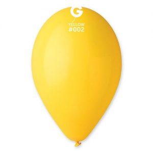 sachet-de-100-ballons-jaune-30-cm