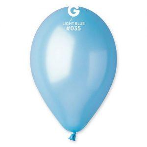 sachet-de-50-ballons-bleu-clair-métallisé-helium
