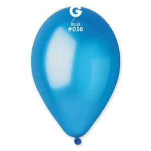 sachet-de-50-ballons-bleu-métallisé-helium