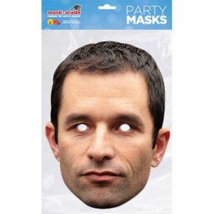 masque-carton-benoit-hamon