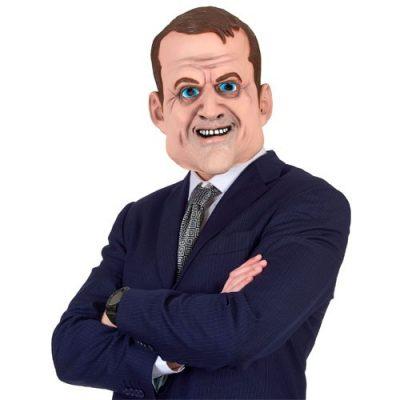 masque-latex-emmanuel-macron